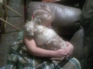 Katie & Brady Sleeping